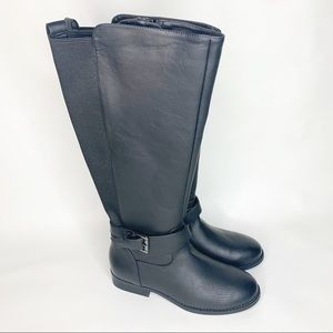 A New Day Wendy Black Riding Boots